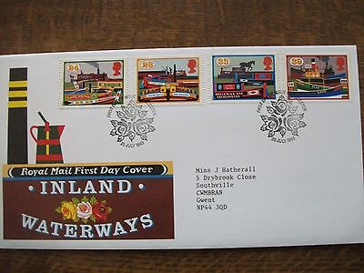 GB 1993 Inland Waterways First Day Cover