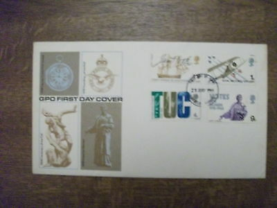 GB 1968 British Anniversaries First Day Cover