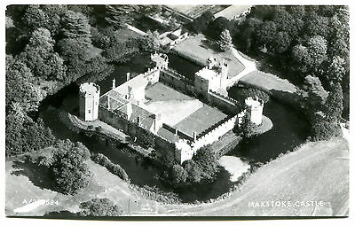 Maxstoke Castle, Nr Coleshill, Ariel view from South West