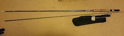 shakespeare superfly  line no 7 fishing rod with bag