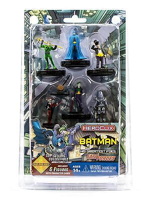 DC Heroclix: Batman And His Greatest Foes Fast Forces Pack