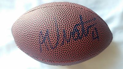 Adam Vinatieri Indianapolis Colts Nfl London Ball Hand Signed Football