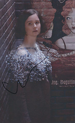 "KATHERINE WATERSTON AUTOGRAPH FANTASTIC BEASTS HAND SIGNED ""12x8"" PHOTO"