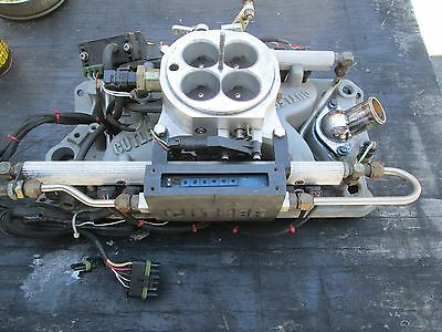 Small Block Chevy Fuel Injection Unit Cutler/holley
