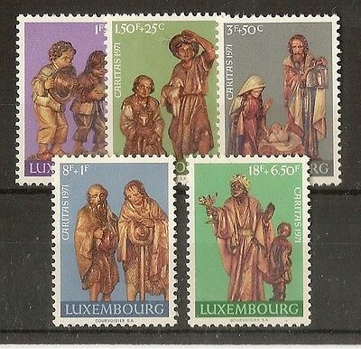 Luxembourg 1971 Fund SG880-884 MNH