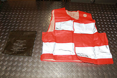 Bundeswehr High visibility vest, for Drivers, in Storage bag, heavy Ausfüh