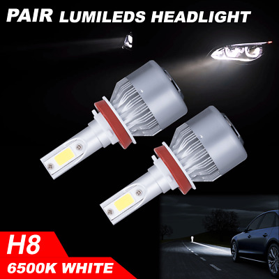 Pair 7inch 30W Super Slim CREE LED Light Bar Combo Work Offroad Driving Lamp
