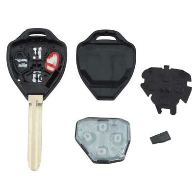 Replacement 4 Button Remote Key Fob with 67 Chip Fit For Toyota Camry 07-10