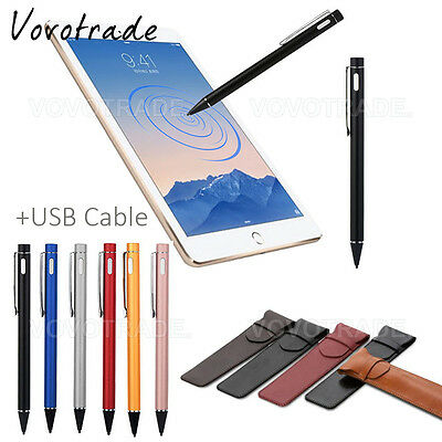 Screen Touch Pen Stylus With USB Charging Wire For Apple iPad 2 3 4 Pro