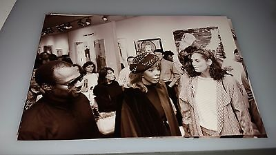 Donna Summer 4 X 6 Photograph From Circle Art Gallery Showing Lot #7