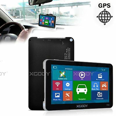 XGODY 7'' 8GB Truck Lorry Car GPS Navigation Navigator SAT NAV Speedcam AU Map