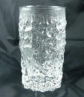 """Geoffrey Baxter Whitefriars Glacier Set of 2 5.5"""" Tall Water Tumblers"""