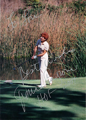 DONNA CAPONI 5X7 Hand Signed Color Picture