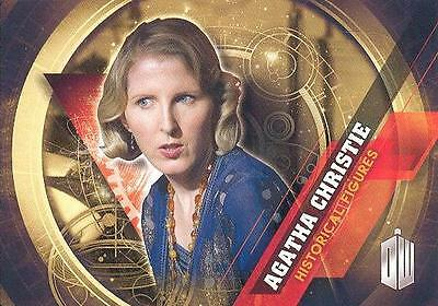 2016 Doctor Who Timeless Historical Figures 11 Of 12 Agatha Christie Card RARE!