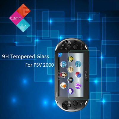 9H Tempered Glass Film Screen Protector for Sony PlayStation PS Vita PSV 2000