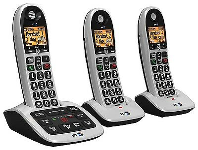 BT 4600 Trio Dect Telephone With Answer Machine