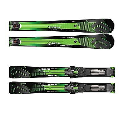 K2 Herren Super Charger MXCell 12 TCx rMotion2 Set Race Carver Ski Black/Green