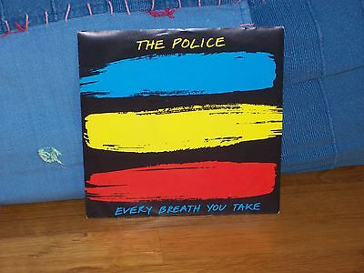 """The Police - Every Breath You Take - 7"""" Nm 1983"""