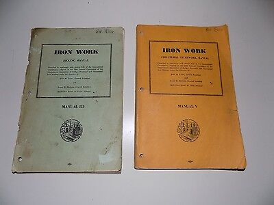 Iron Work Manuals Rigging Structural Steelwork Manual III, V