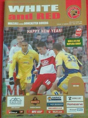 WALSALL v DONCASTER ROVERS.  1/1/2000