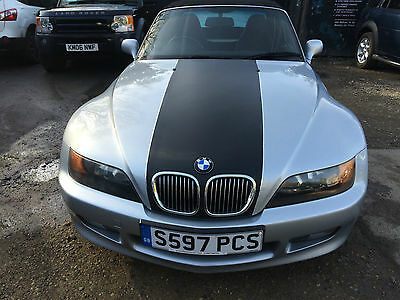 1999 BMW Z3 SILVER,1.9 , 2 door Convertible,Another Part Offered with No Reserve