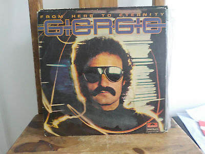Giorgio Moroder From Here To Eternity Classic Rare 1977 Synth Disco Vinyl Lp