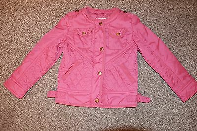 Ted Baker girls pink lightly padded jacket age 5 - 6 years Used
