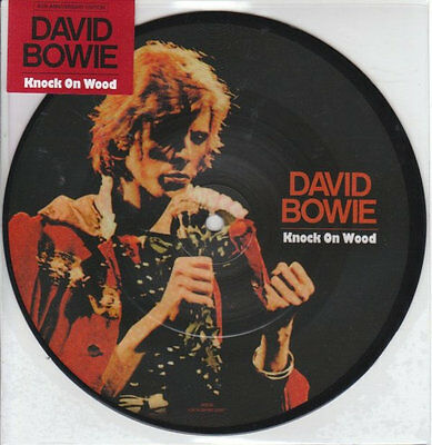 """David Bowie - Knock On Wood 40th anniversary 7"""" picture disc New Sealed 2014"""