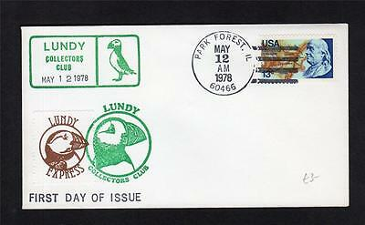 Lundy: Lundy Express Label On 1978 Cover