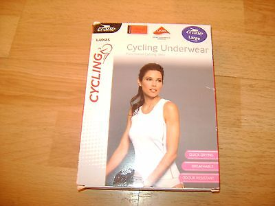 Bnwt Ladies Crane Cycle Underwear Vest Top Size Large 16-18 Cycling