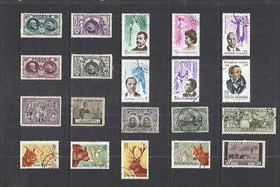 s9899 Romania / A Small Collection Early & Modern Used