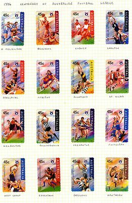Astralia 1996 Football set  s/a used