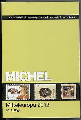 2012 Michel EUROPA Vol. 1 Central Europe stamp catalog, good condition