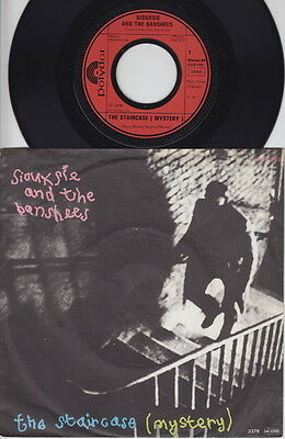 SIOUXSIE And The BANSHEES * The Staircase * 1979 German 45 * PUNK GOTH