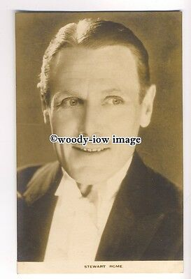 b3538 - Film Actor - Stewart Rome - postcard by Film Weekly