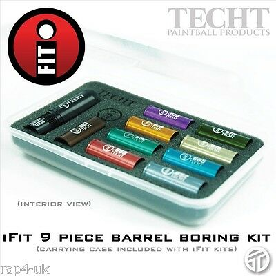 TechT iFit 9 Piece Paintball Barrel Sniper Kit - increase your accuracy [EW8]