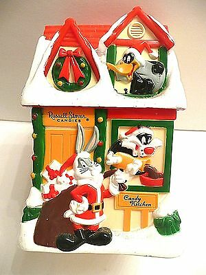vintage 1997 Russell Stover Warner Bros Looney Tunes Christmas Holiday Bank