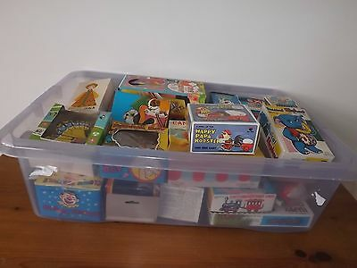 Vintage Wind Up Toys - Lot Of 28 Toys Mostly In Original Boxes