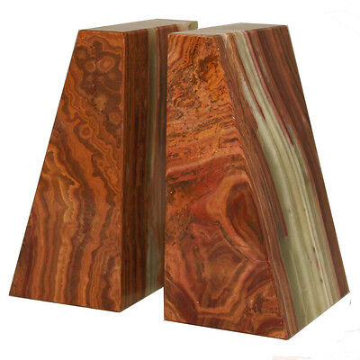 Designs by Marble Crafters Saffron Brown Zeus Book Ends Set of 2