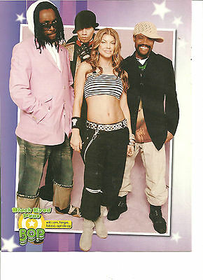 The Black Eyed Peas, Fergie, Full Page Pinup