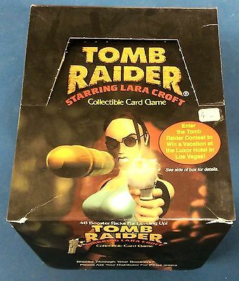 Tomb Raider Trading Card Game, 43 Booster (Precedence, englisch, 1999)