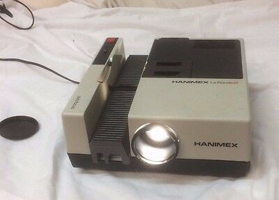 Vintage High Quality Slide Projector - Hanimex La Ronde Ef With Carry Case