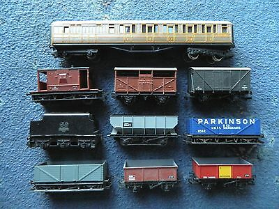 Classic Big Lot Of Hornby Wagons Oo Gauge