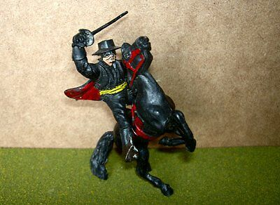 Lone Star Mounted Zorro on Rearing Horse