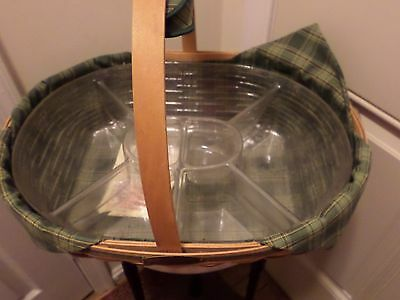 1998  Longaberger  Traditions Collection Hospitality Basket Combo