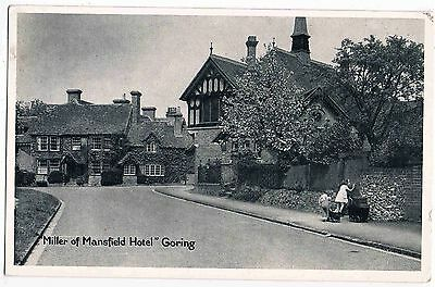 Oxfordshire - Rppc - The Miller Of Mansfield Hotel, Goring, 1952