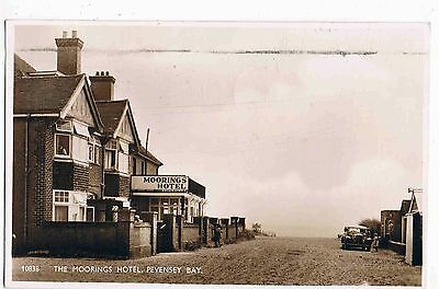 Sussex- Rppc - The Moorings Hotel, Pevensey Bay, 1958
