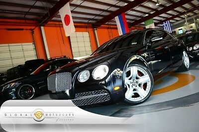 2014 Bentley Continental Flying Spur  14 BENTLEY CONTINENTAL FLYING SPUR MULLINER NAVI REAR CAM NAIM 4 CAPT CHAIRS