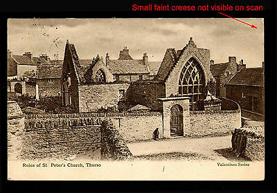 M90 Ruins Of St Peter's Church Thurso Caithness Posted from Reay 1904