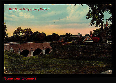 M84 Hall Street Bridge Long Melford Suffolk + Little Chesterford Rubber H/Stamp